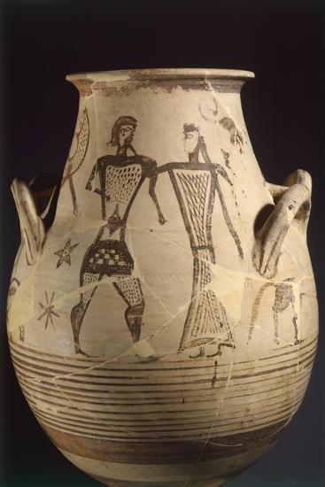 Biconical Krater by the Painter of the Eptacordo--Giclee Print
