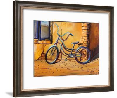 Bicycle 1-Lena Navarro-Framed Art Print