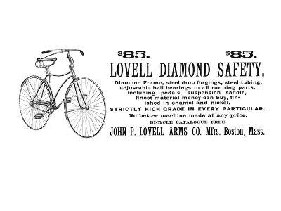 Bicycle Advertisement, 1890--Giclee Print