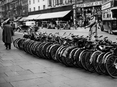 Bicycle Demand--Photographic Print