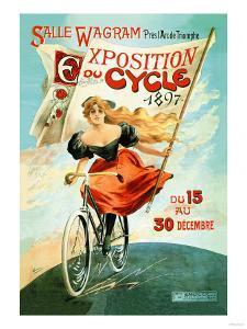 Bicycle Exhibition, c.1897