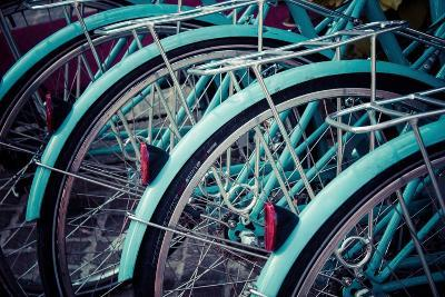 Bicycle Line Up 2-Jessica Reiss-Photographic Print