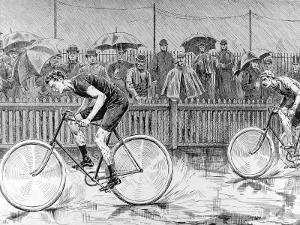 Bicycle Race at the Catford Cycling Club, 1892
