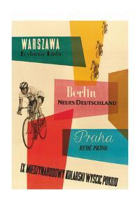 Bicycle Race, Warsaw, Berlin, Prague