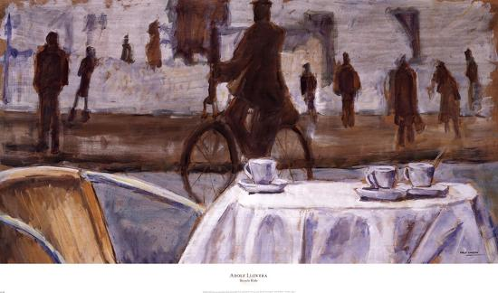 Bicycle Ride-Adolf Llovera-Art Print