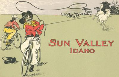 Bicycle Roping, Sun Valley, Idaho