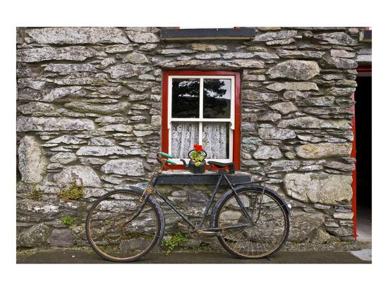 Bicycle-Richard Desmarais-Art Print