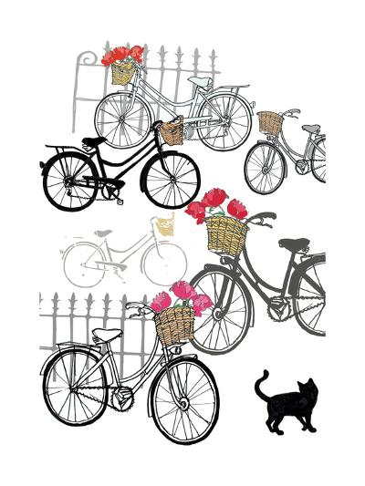 Bicycles, 2013-Anna Platts-Giclee Print