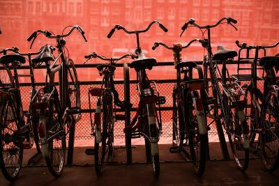 Bicycles at Centraal Station II-Erin Berzel-Photographic Print