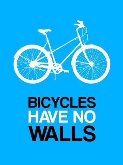 Bicycles Have No Walls 2-NaxArt-Art Print