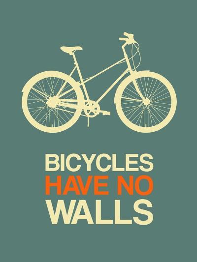 Bicycles Have No Walls 3-NaxArt-Art Print