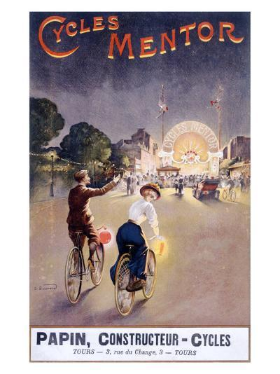 Bicycles Mentor Carnival Circus--Giclee Print