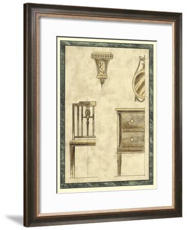 Biedermeier Furniture I-Vision Studio-Framed Art Print