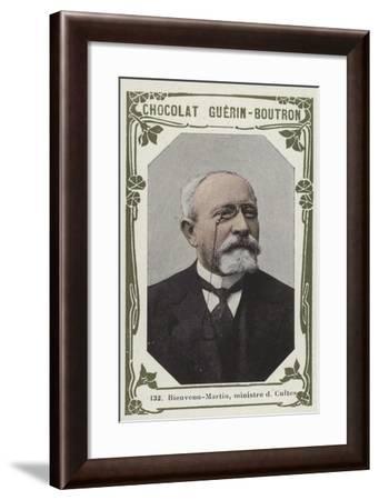 Bienvenu-Martin, Ministre Des Cultes--Framed Giclee Print
