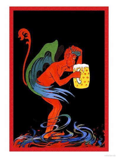 Biere au Diable-Eugene Oge-Art Print