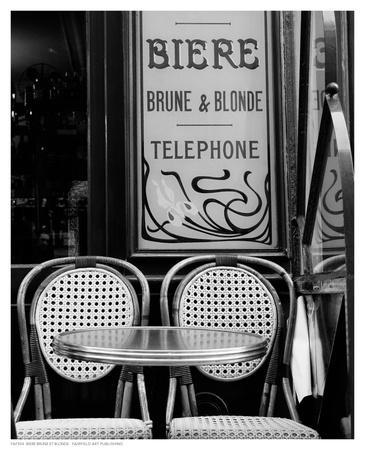 Biere Brune et Blonde--Art Print