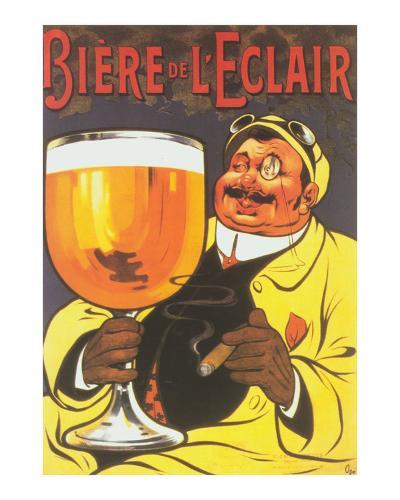 Biere de L'Eclair--Art Print