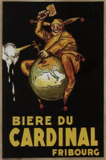 Biere Du Cardinal-Achille Lucien Mauzan-Art Print