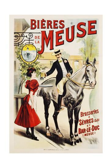 Bieres De La Meuse Poster--Giclee Print