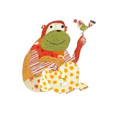 Big Ape, Little Bird-Sarah Battle-Art Print