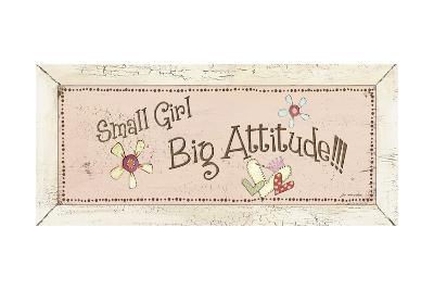 Big Attitude-Jo Moulton-Art Print