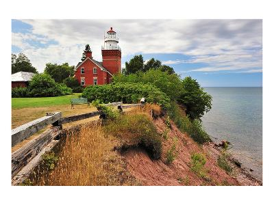 Big Bay Lighthouse Michigan--Art Print