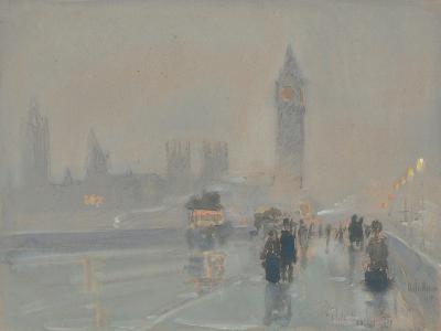 Big Ben, 1897 or 1907-Childe Hassam-Giclee Print