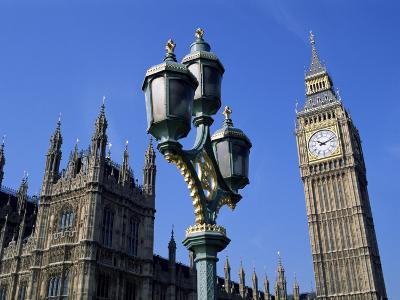 Big Ben and the Houses of Parliament, Unesco World Heritage Site, Westminster, London, England-Fraser Hall-Photographic Print