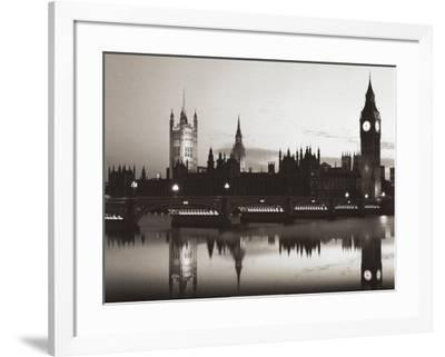 Big Ben and the Houses of Parliament-Pawel Libra-Framed Art Print