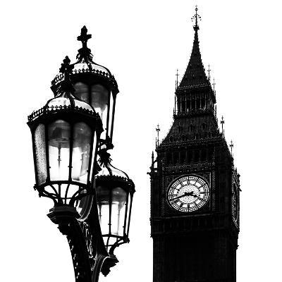 Big Ben and the Royal Lamppost UK - City of London - UK - England - United Kingdom - Europe-Philippe Hugonnard-Photographic Print
