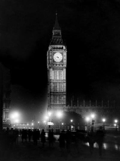 Big Ben circa 1936--Photographic Print
