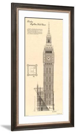 Big Ben Clock Tower-Yves Poinsot-Framed Art Print