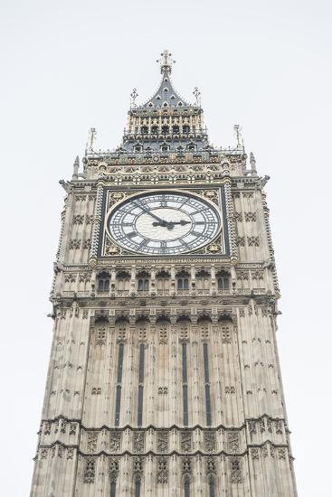 Big Ben (Elizabeth Tower), Houses of Parliament, Westminster, London, England, United Kingdom-Matthew Williams-Ellis-Photographic Print