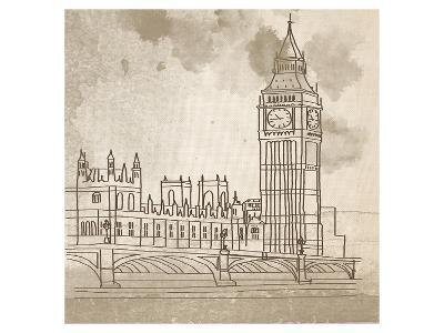 Big Ben-Irena Orlov-Art Print