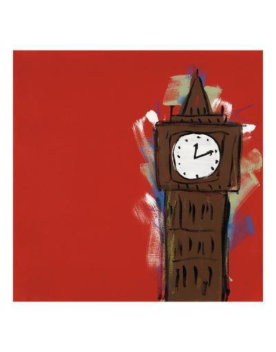 Big Ben-Brian Nash-Art Print