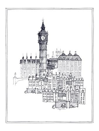 Big Ben-Avery Tillmon-Premium Giclee Print
