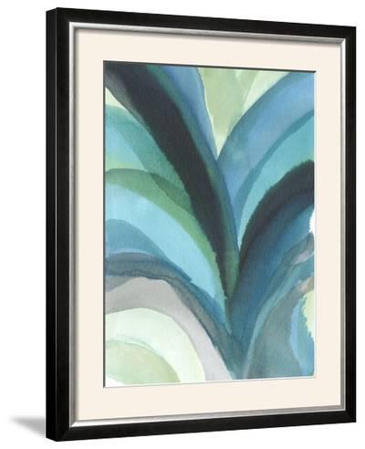 Big Blue Leaf I-Jodi Fuchs-Framed Photographic Print