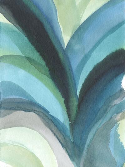 Big Blue Leaf I-Jodi Fuchs-Art Print