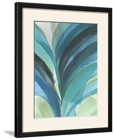 Big Blue Leaf II-Jodi Fuchs-Framed Photographic Print