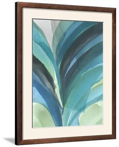 Big Blue Leaf II-Jodi Fuchs-Framed Photographic Print