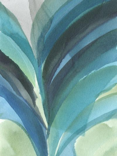Big Blue Leaf II-Jodi Fuchs-Art Print