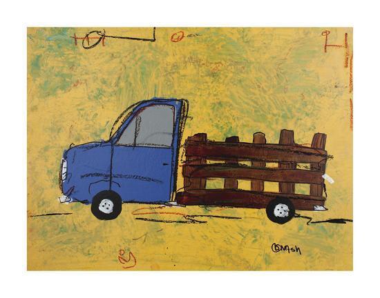 Big Blue-Brian Nash-Art Print