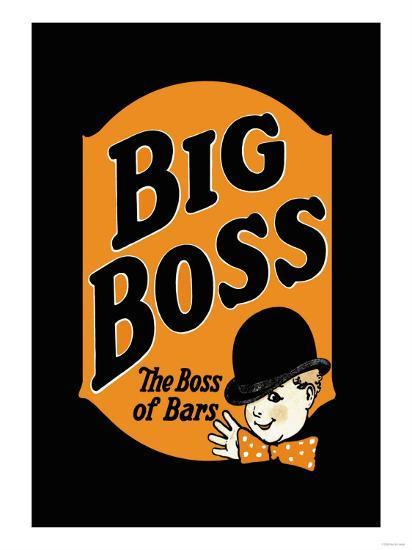 Big Boss--Art Print