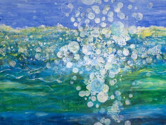 Big Bubble, 2015-Margaret Coxall-Giclee Print