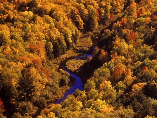 Big Carp River, Porcupine State Park, Michigan, USA-Chuck Haney-Photographic Print