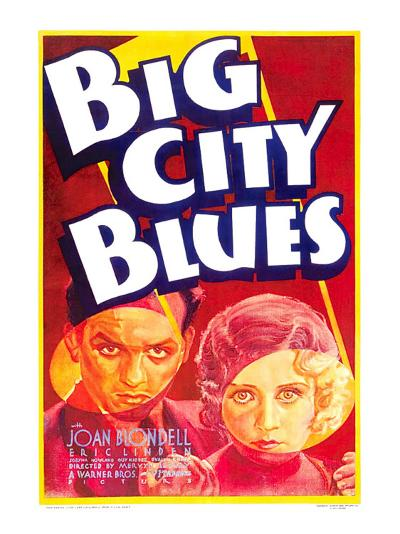 Big City Blues, Eric Linden, Joan Blondell, 1932--Photo