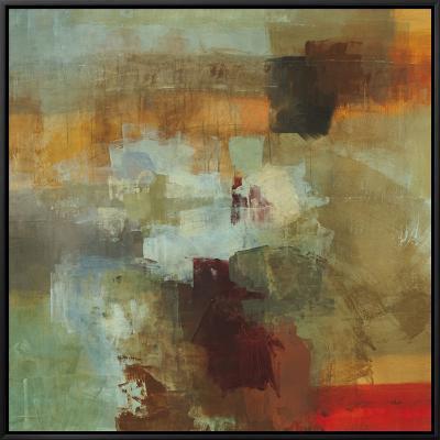 Big City II-Randy Hibberd-Framed Canvas Print