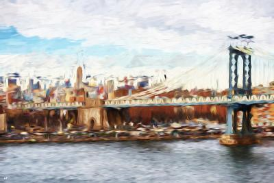 Big City - In the Style of Oil Painting-Philippe Hugonnard-Giclee Print