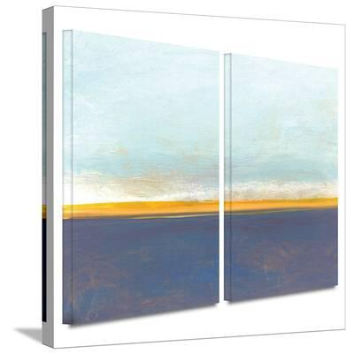 Big Country Sky I 2 piece gallery-wrapped canvas-Jan Weiss-Gallery Wrapped Canvas Set