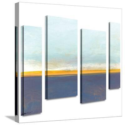 Big Country Sky I 4 piece gallery-wrapped canvas-Jan Weiss-Gallery Wrapped Canvas Set